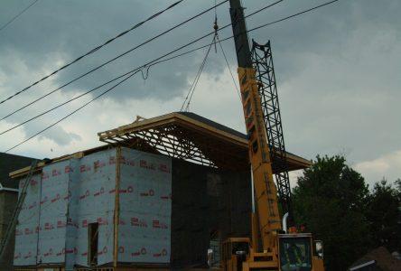 Construction : 25 % de plus que l'an dernier à pareille date
