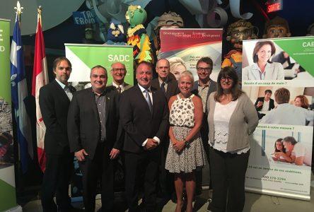 Ottawa offre un financement stable au CAE Drummond
