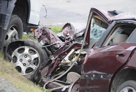 Accident mortel sur la 139 : la victime s'appelle Annie Bolduc