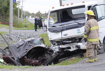 Accident mortel sur la route 139