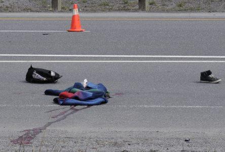 Tragique accident sur l'autoroute 20
