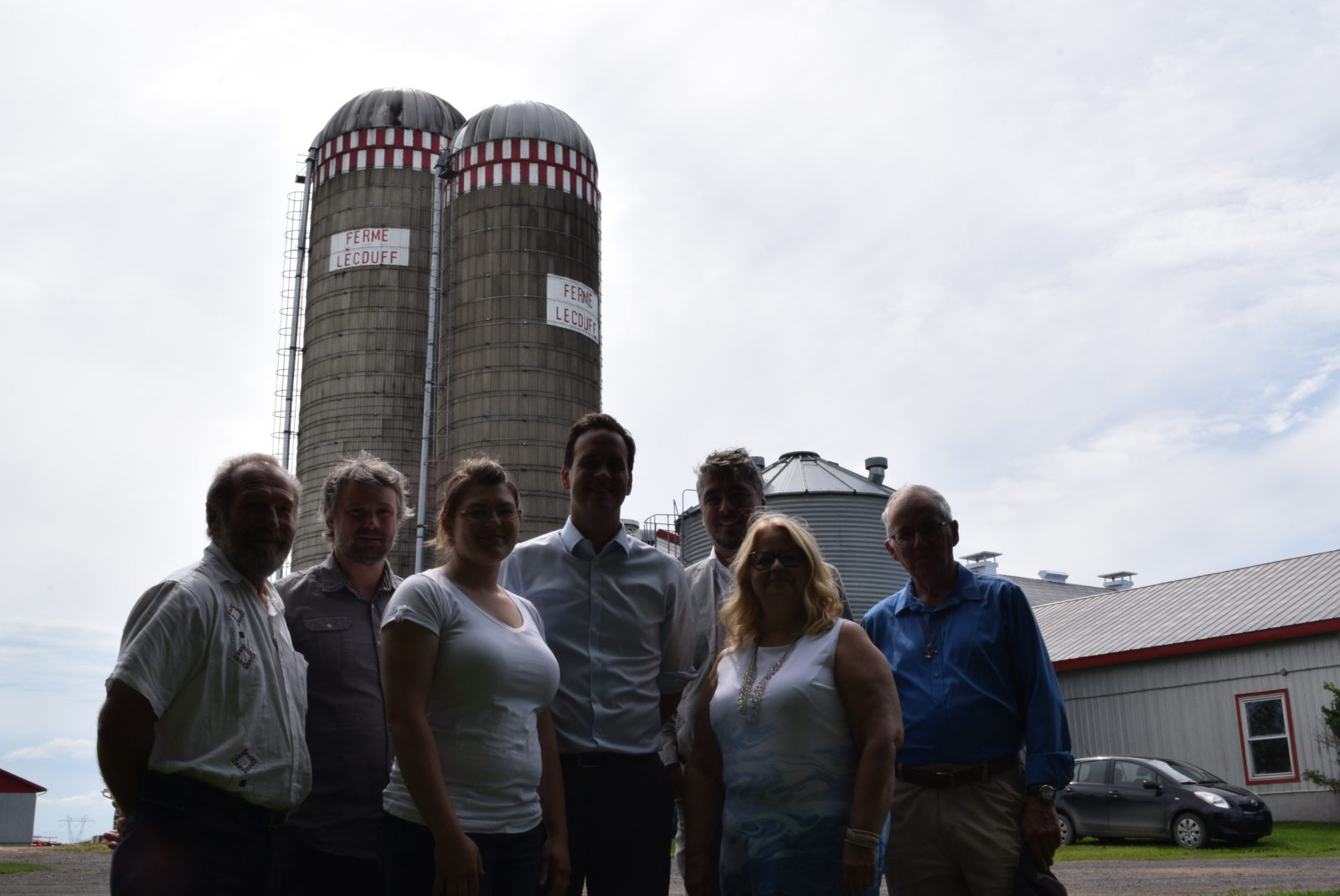 Alexandre Cloutier rencontre des agriculteurs de la région