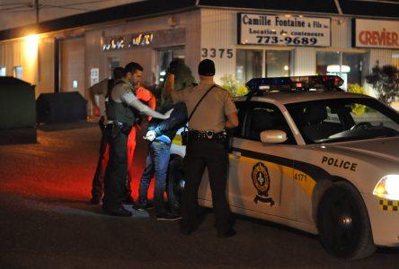Une poursuite policière de Drummondville à Sainte-Rosalie