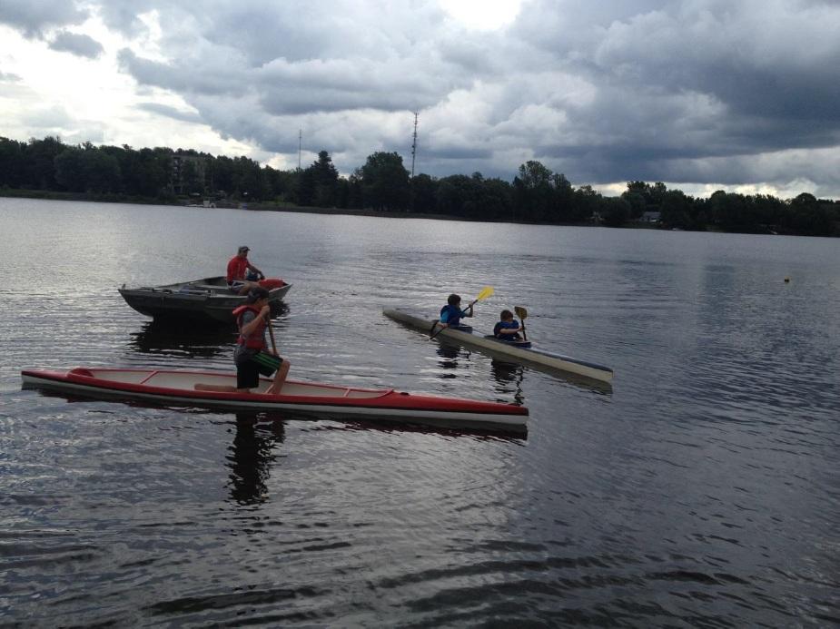 Une occasion de découvrir le canoë-kayak de vitesse