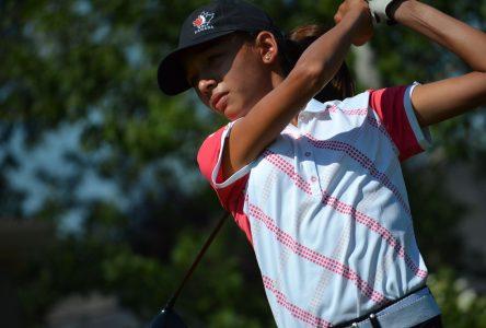 Les futures vedettes du golf à Drummondville