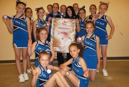 Cheerleading : des médailles pour les Djinns
