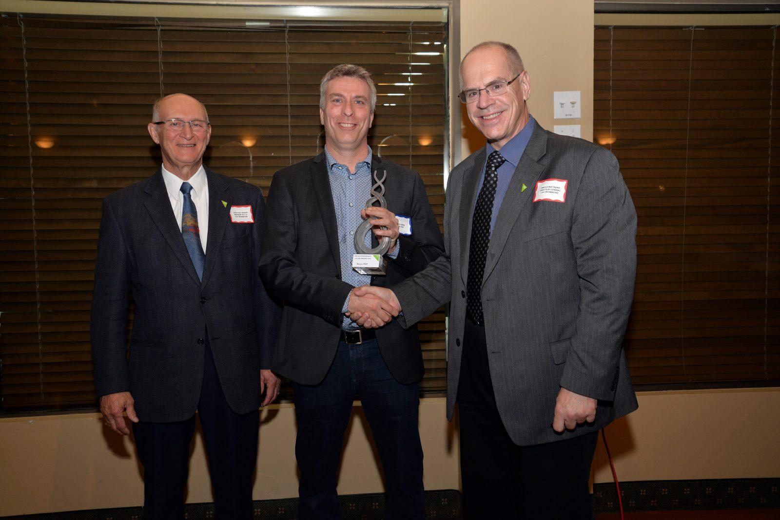 Recyc PHP reçoit le Prix Reconnaissance CAE Drummond 2016