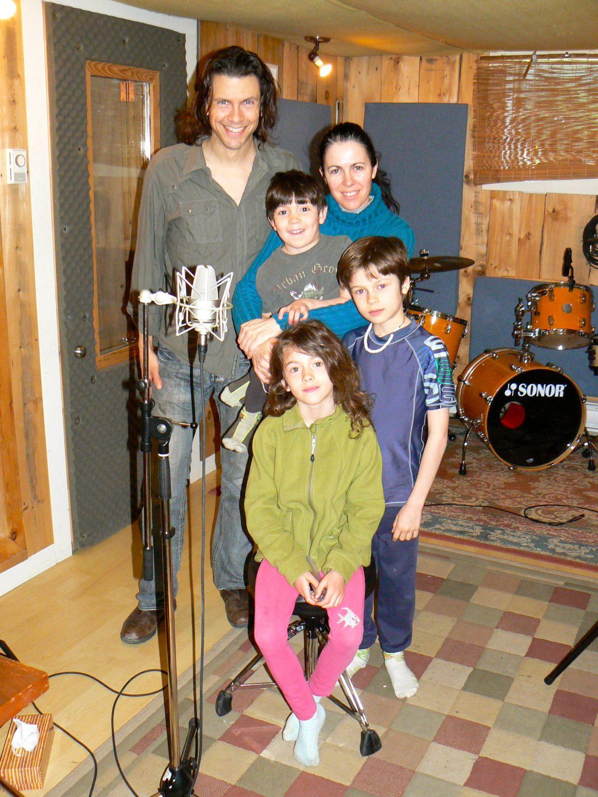 Un album pour enfants conçu par Davy Gallant et Michelle Campagne en lice au Juno Awards