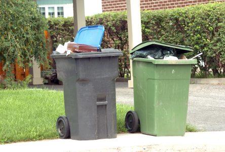 Quelque 2,1M$ prévus pour la disposition des déchets