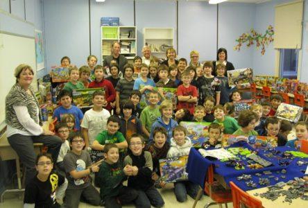 Un local bien spécial juste pour les gars de l'école Saint-Jean à Wickham