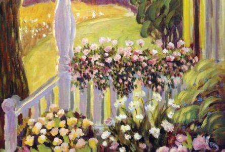 Des œuvres de Lisanne Cormier en montre dans les foyers du Centre culturel