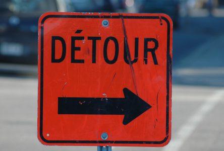 Une partie de la rue Heriot fermée mercredi
