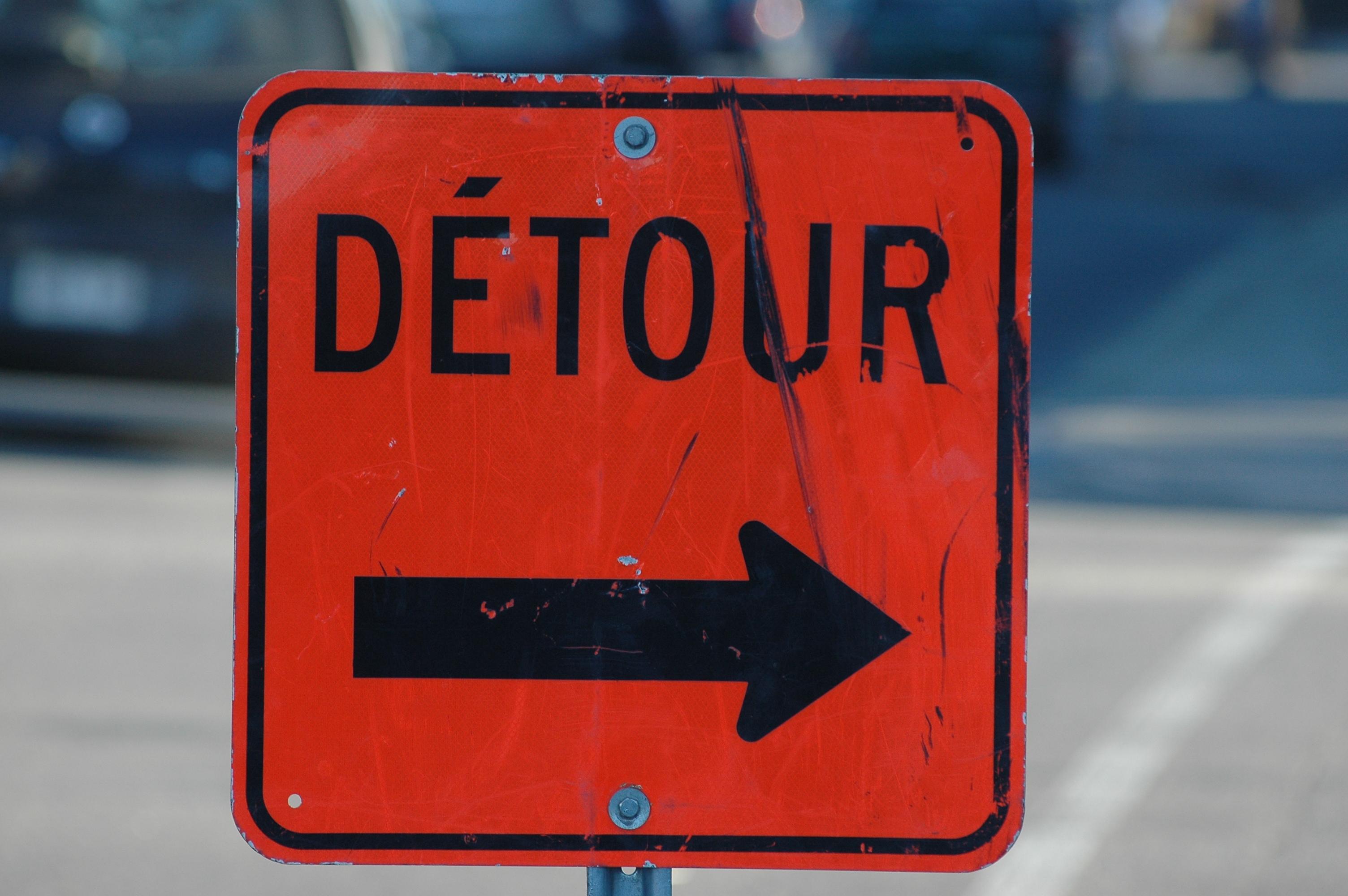Détour à prévoir sur la route 143 (mise à jour)