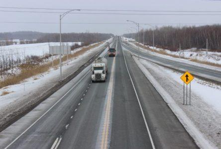 Le projet de doublement de l'autoroute 55 progresse rapidement