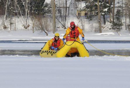 Les pompiers déployés sur la rivière Saint-François prochainement
