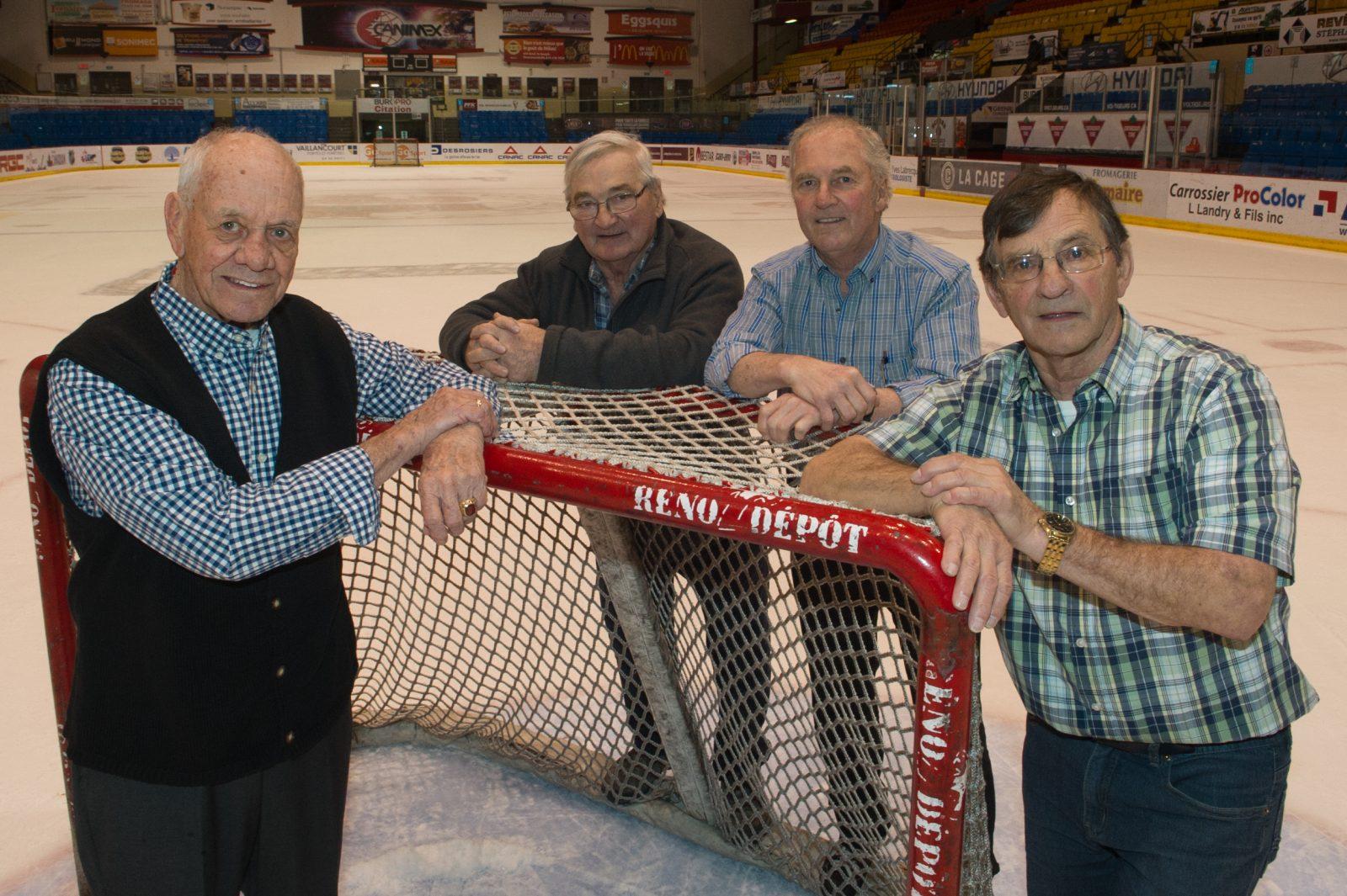 Il y a 50 ans, les Aigles de Drummondville devenaient champions