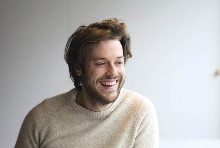 Mickaël Gouin à l'émission «Le Tricheur» pour la Fondation Michel-Gouin
