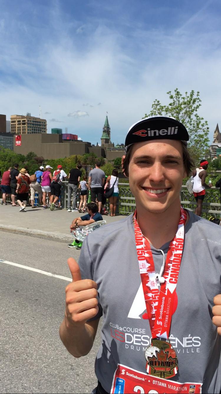 Marathon de Boston : deux coureurs de la région réussissent à se qualifier