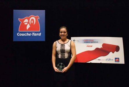 Soccer : Elizabeth Allard et Gabrielle David honorées