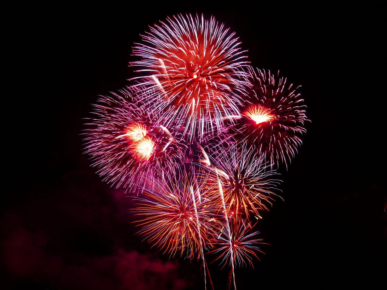 Drummondville présentera des feux d'artifice le 23 juin