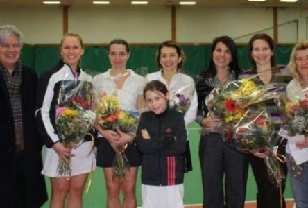 Franc succès pour le Tournoi provincial de tennis féminin 35 ans et plus