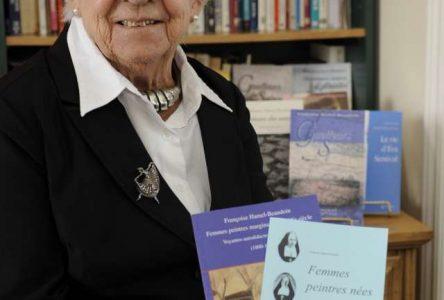 À 86 ans, Françoise Hamel-Beaudoin vient de publier ses 13e et 14e livres