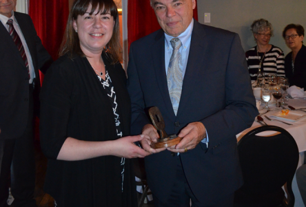 Me Germain Jutras reçoit le Mérite du Barreau d'Arthabaska