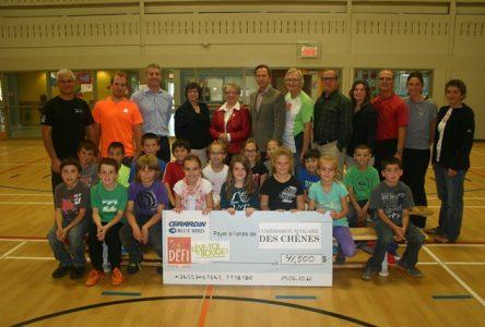 41 500$ aux écoles primaires de la Commission scolaire des Chênes