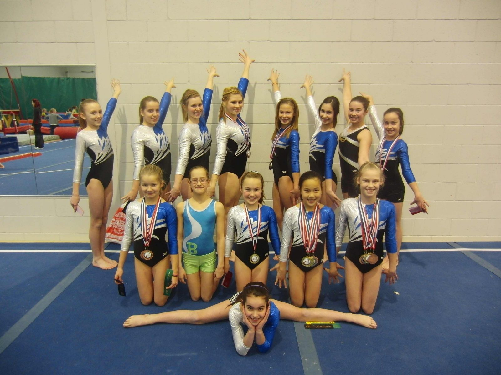 Les gymnastes drummondvilloises s'illustrent