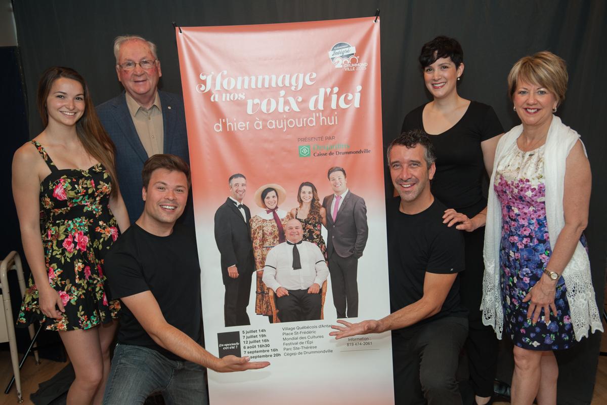 L'histoire musicale de Drummondville à travers un hommage