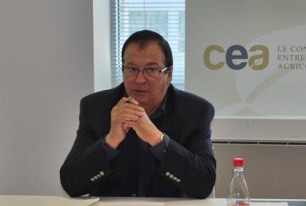 Jacques Cartier élu à la présidence du Conseil des entrepreneurs agricoles