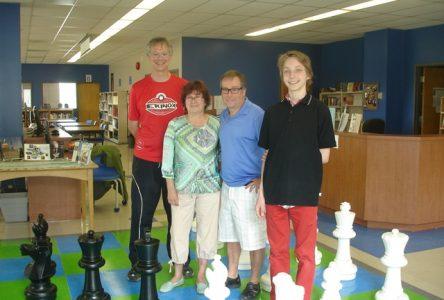 Le plus grand jeu d'échecs en région
