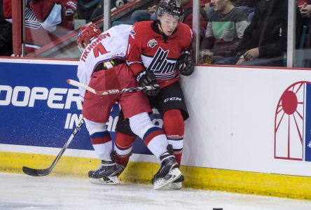 Le capitaine à la Série Canada-Russie