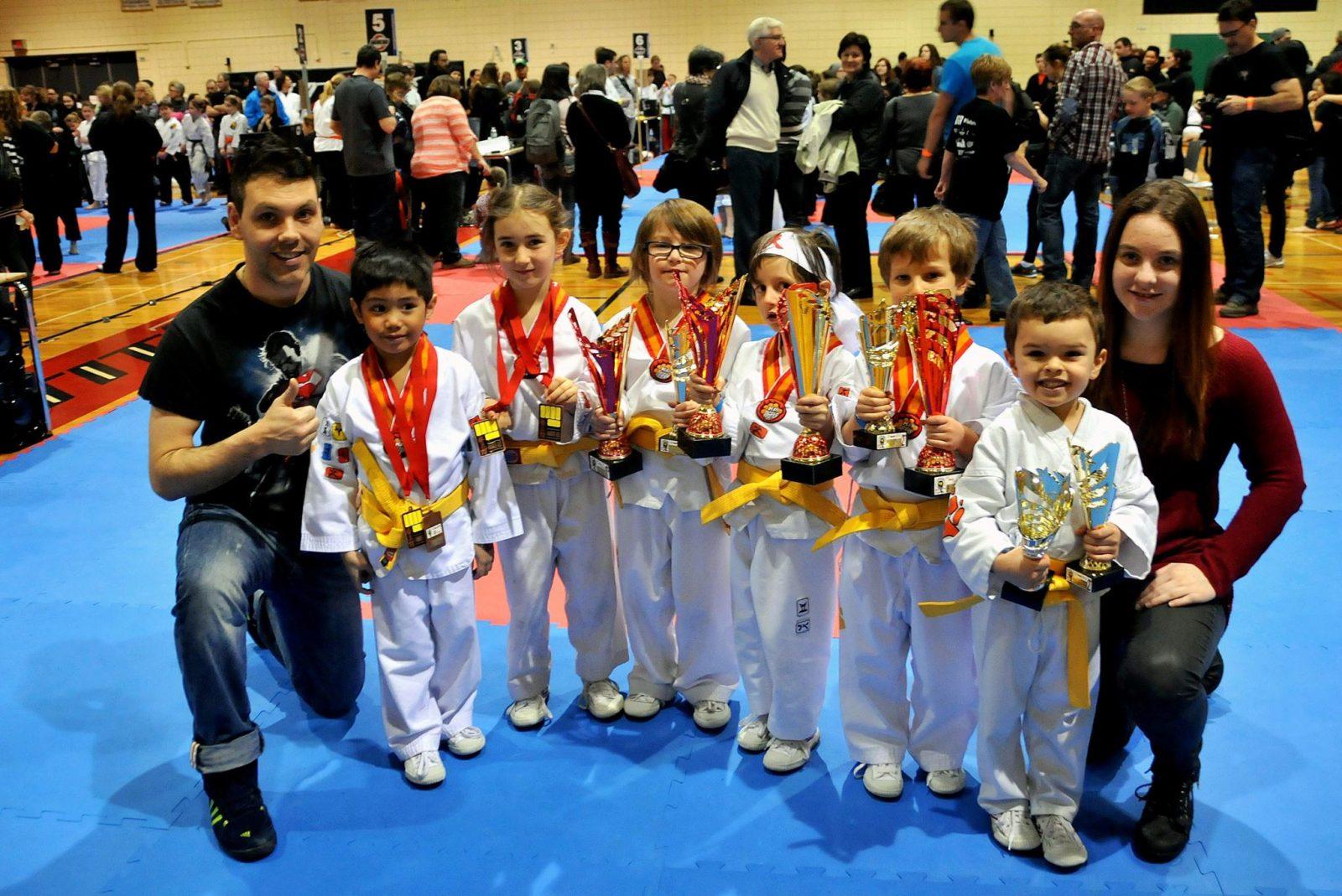 Bon départ pour l'école de karaté kungfu