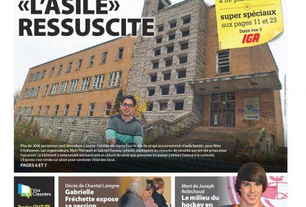 La une de L'Express du mercredi 22 octobre 2014