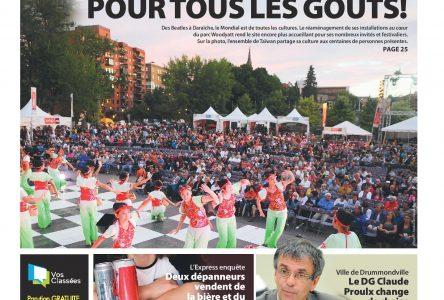 La une de L'Express du 9 juillet 2014