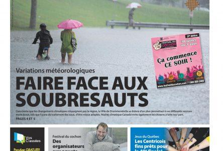 La une de L'Express du 30 juillet 2014