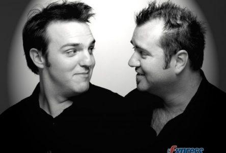 Le duo Les Machines de l'humour en sol drummondvillois