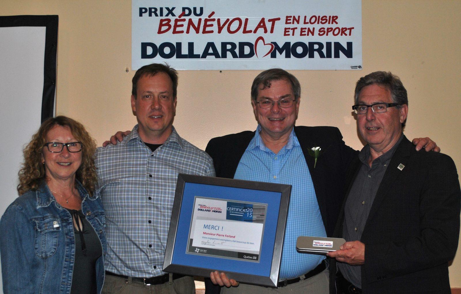 Pierre Ferland lauréat du Prix Dollard-Morin au Centre-du-Québec