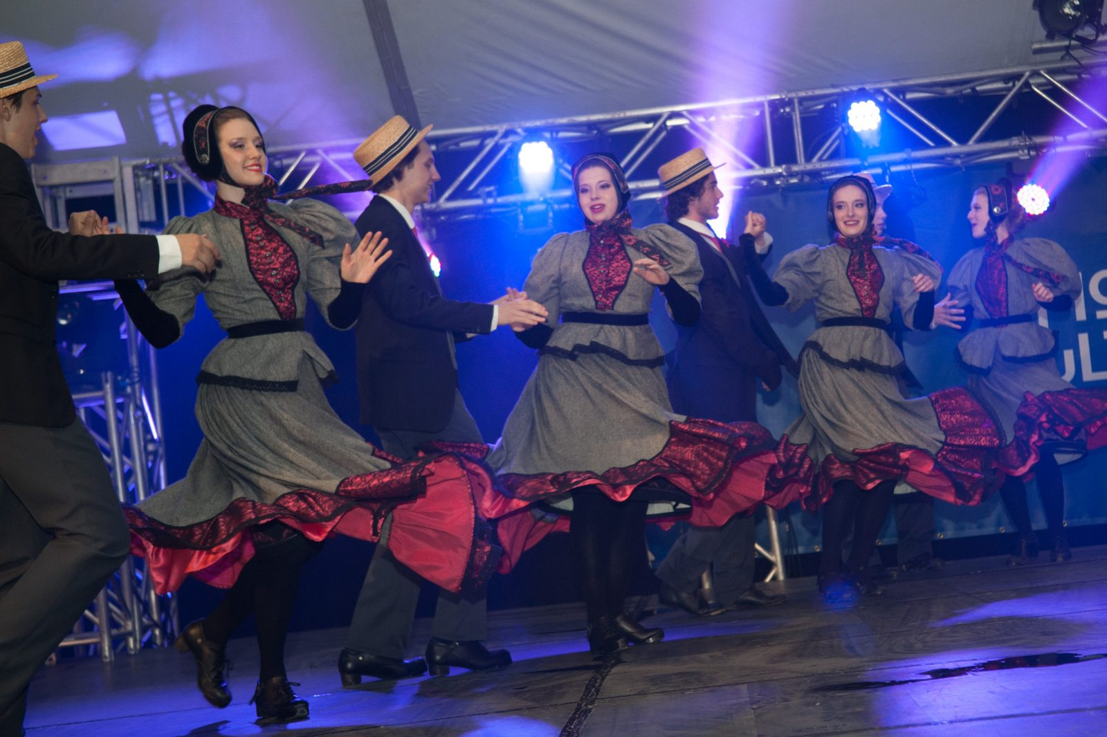 La troupe de danse Mackinaw en mode recrutement