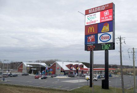 Immostar a aussi son projet de halte routière du côté sud de l'autoroute 20