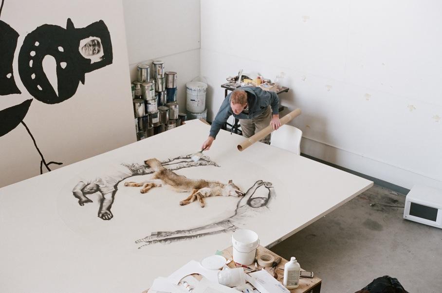 L'artiste Marc Séguin de passage au cégep de Drummondville