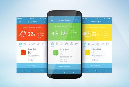 Blisly: une application pour les personnes météo-sensibles