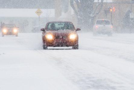 Bordée de neige : pas d'accident majeur