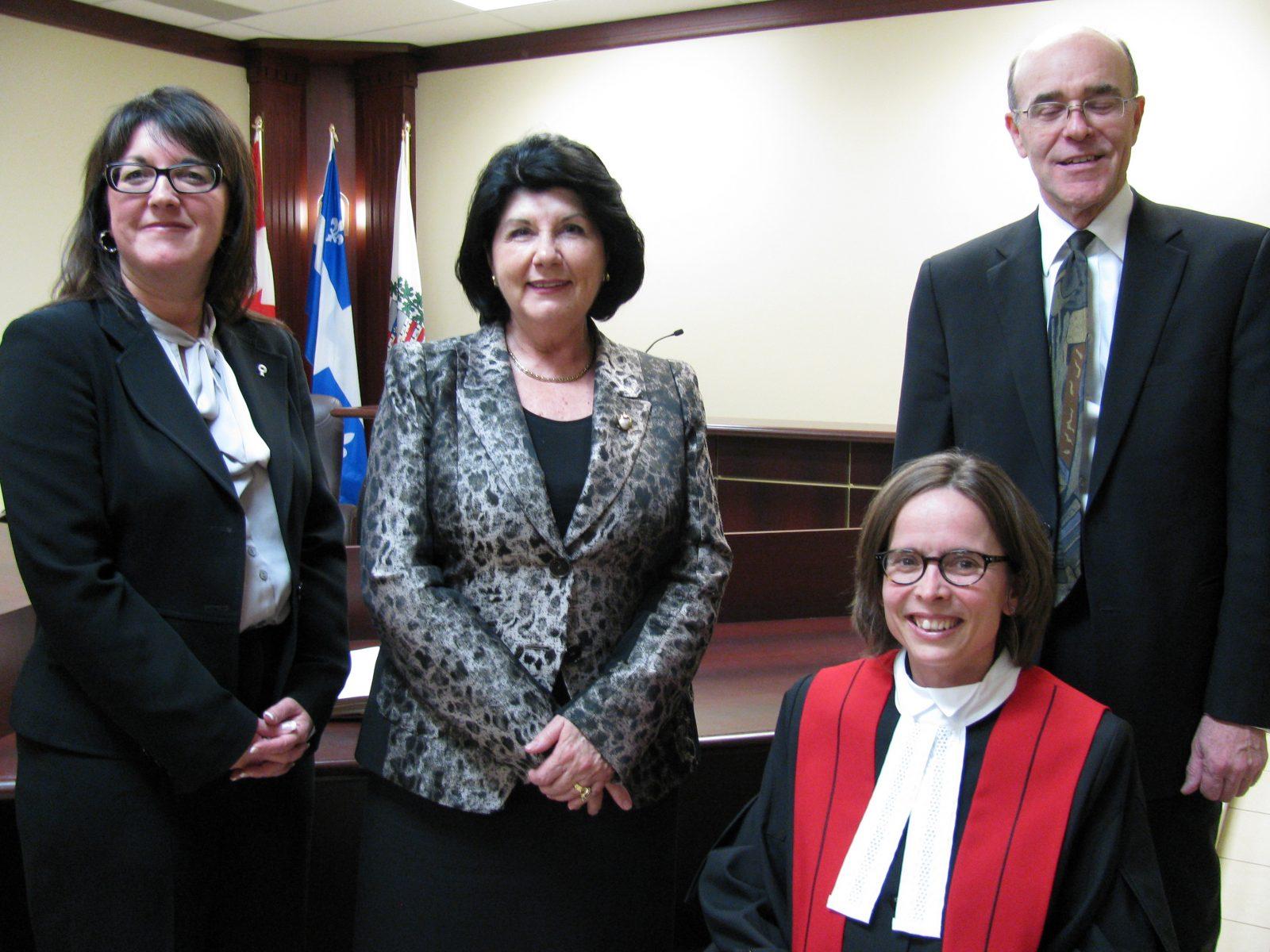 Me Martine St-Yves est maintenant juge à la Cour municipale