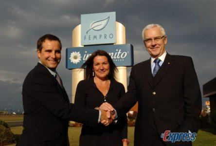 «Nous voulions absolument que Fempro demeure à Drummondville»