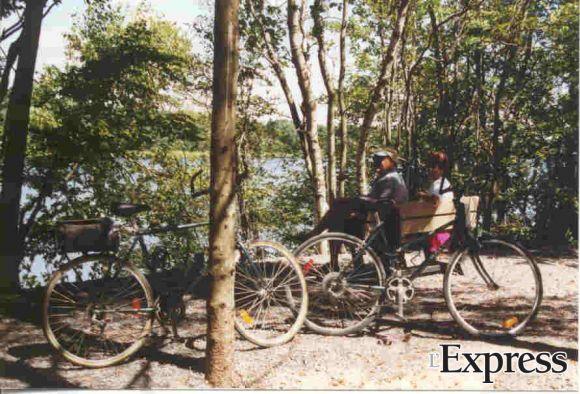 Ouverture de la halte vélo La Plaine