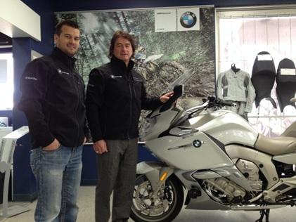 Performance NC obtient la bannière BMW Motorrad