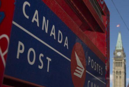 Postes Canada craint une grève de 72 heures d'ici une semaine