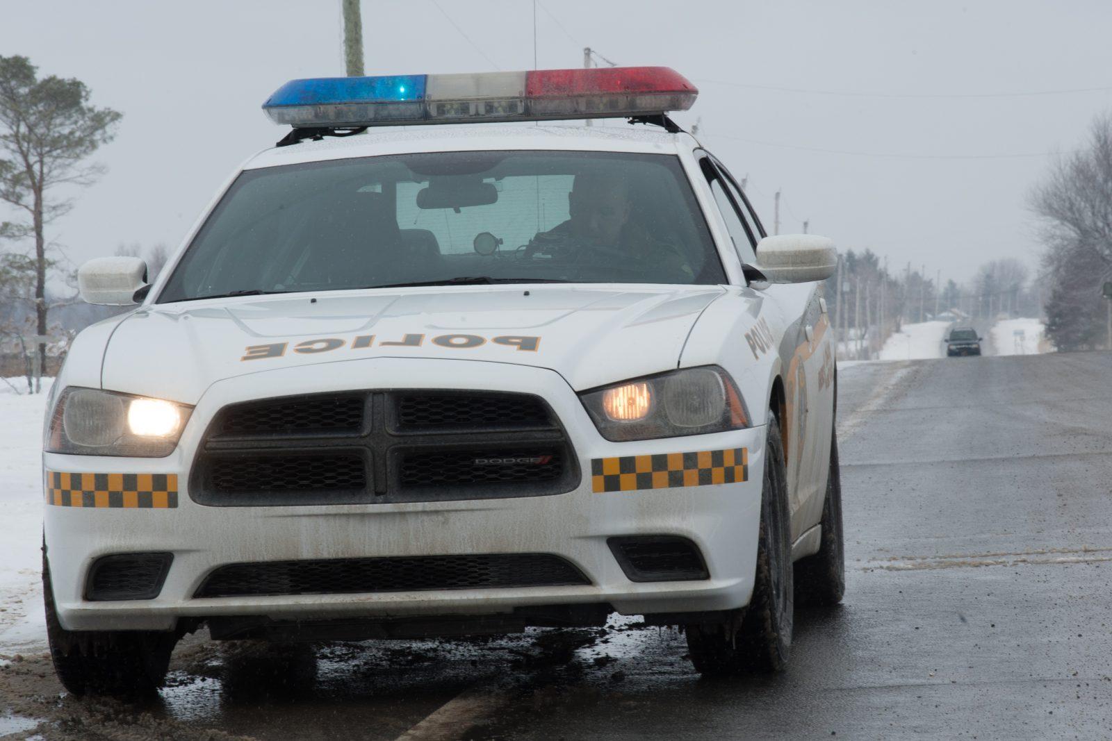 Les policiers remettent 65 contraventions